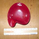 Costa Line: Red Bakelite ashtray