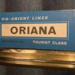 P&P Orient : Oriana Tourist Plan Blue