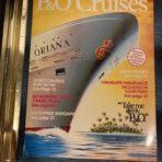 P&O Cruises: May 85-April 86 Glossy Magazine for Oriana