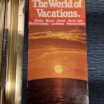 Princess Tours: The World of Vacations booklet 1979