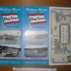 Hudson River Day Line: Travel map fold out
