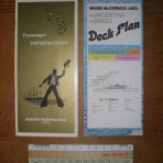 Moore – McCormack Info booklet and Deckplan