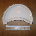 Cunard Line: Maddock China crescent shaped dish: restocked!