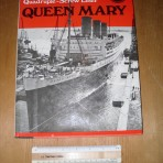 Cunard line: Ocean Liners of the Past Queen Mary Shipbuilder Reprint.  MM17