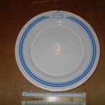 Premiere classe: RMS Titanic Luncheon Plate!