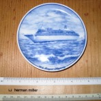 Royal Cruise Line: Souvenir pin dish #1