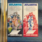Chandris: Atlantis 1971 Cruises from NYC brochure deck plan and rate folder set