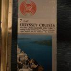 Sun Line: Stella Oceanis Deck Plan cruises 1971 booklet