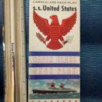 United States Lines: SSUS CC Deck Plan Full Color