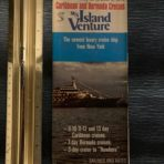Flagship Cruises: MS Island Venture Inaugural Foldout