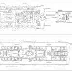Canadian Pacific: Empress Of Ireland Rigging and all deck plans set