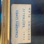 Chandris Line: SS Australis Berthing Plan