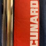 Cunard Line: QE2 Ticket and folder 1974