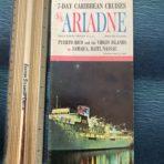 Eastern Steamship: SS Ariadne Folding Flyer Deck Plan