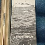 HAL: SS Rotterdam Facts and Figures Booklet