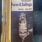 Union Castle: 71 fares an sailings