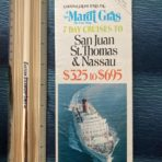 Carnival Cruise Lines : SS Mardi Gras 1974, & Day Cruises foldout