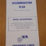 Chandris Lines: Amerikanis Deckplan