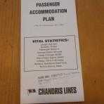 Chandris Lines: SS Ellinis Deckplan