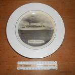 Cunard Line: Cunard Adventurer souvenir plate