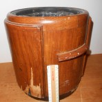 Cunard Line: Queen Mary First Class Smoking Room Rubbish bin. MB/UK
