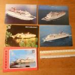 Carnival Cruises: 2nd / 3rd generation ship postcard set