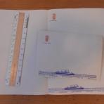 Polish Ocean Lines: Stefan Batory Envelope and Stationery Sheet