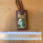 Cunard Line: QE2   1983 Circle Pacific and Orient Cruise Key Chain or Luggage Tag