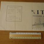Home Lines:  MV Italia Heavy Tissue deckplan