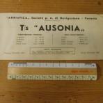 Adriatica Line: MS Ausonia deckplan 1967.