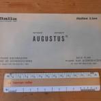 Italian Line: Augustus deck plan