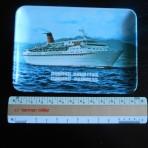 Cunard Line: Cunard Princess and Countess tip tray.