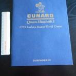 Cunard Line: QE2 Golden Route World Cruise Passenger List