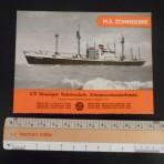 United Netherlands Navigation: MS Zonnekerk Deckplan Foldout