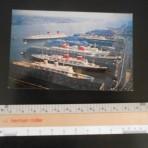 Luxury Liner Row NY Harbor: