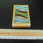 Cunard Line: Yellow QE Playing Cards