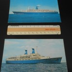Lauro Line:  Angelina and Achille oversized postcards