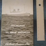 HAL: SS Nieuw Amsterdam Facts and Figures booklet.