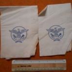 Unites States Lines: SS America large Paper Napkins