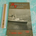 French Line: SS France Bibliotheque de travail booklet #518
