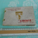 French Line: Liberte postcard booklet