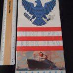 United States Lines: SS America Premium First class deckplan