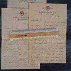 Dollar Steamship Line: 3-SS President Pierce Letters