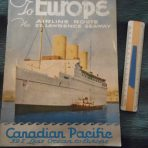 Canadian Pacific: 39% less Ocean Brochure. 1928