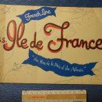 French Line: Ile De France Rue De La Paix of the Atlantic