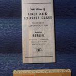 NDL: Berlin Tissue First and Tourist Plan