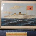 Homes Lines: SS Homeric Scrapbook/Picture Album