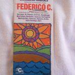 Costa Line: Federico C 1974-75 Deck Plan Brochure