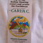 Costa Line: 1976 Carla C Caribbean Cruises