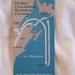 HAL: 12 day Canadian Summer Ryndam Cruise 1966